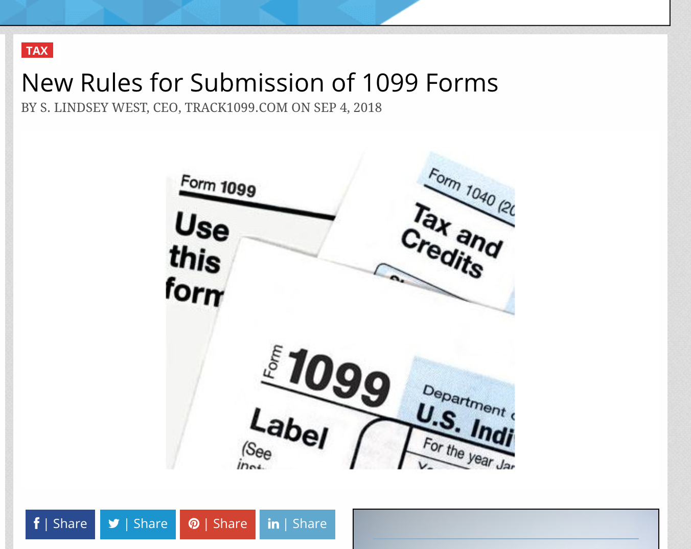 "1099 form rules  CPA Practice Advisor – ""New Rules for Submission of 9 ..."